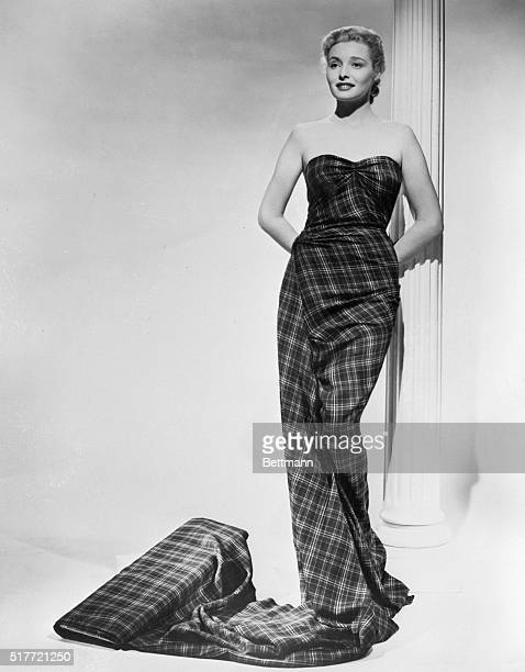 12/2/1949Hollywood CA Patriaia Neal is going to be a Scottish pinup when she attends the premier of 'Hasty Heart' in which she stars with Ronald...