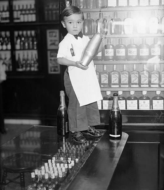 Four Year Old Bartender, Sloppy Joe, Jr.