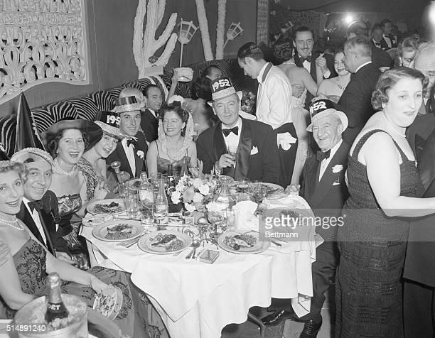 New York NY New Year's Eve party at El Morocco night club