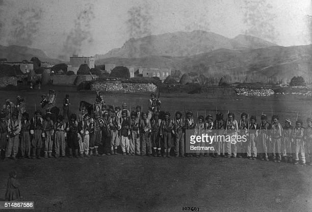 1/24/1919Kurdistan Iran Photo shows a typical frontier guard in Kurdistan