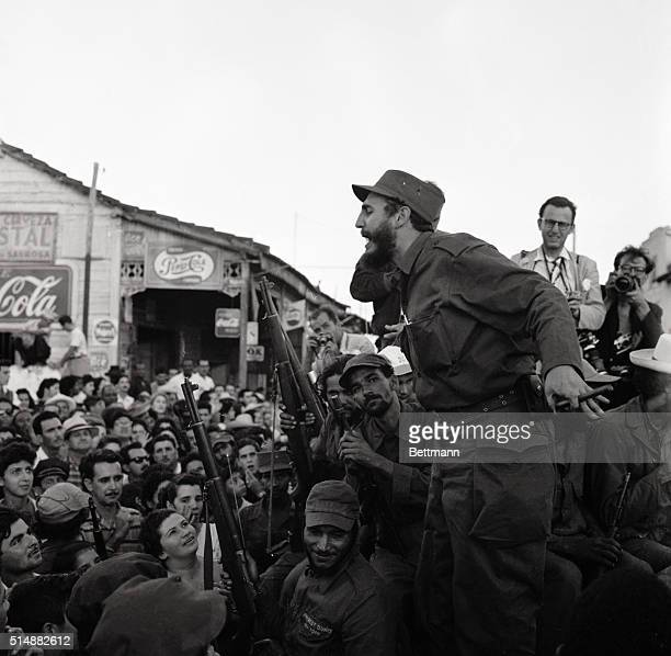 Fidel Castro during March to Havana