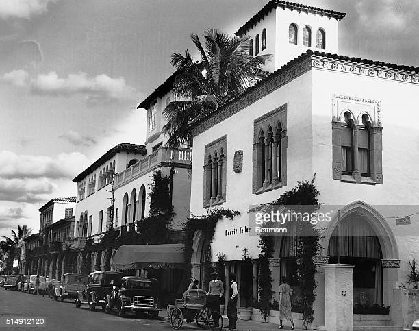 1/26/1936Palm Beach FL SHOPPING CENTER OF PALM BEACH This long line of shops along Worth Avenue in Palm Beach offers fashionable wares to the wealthy...
