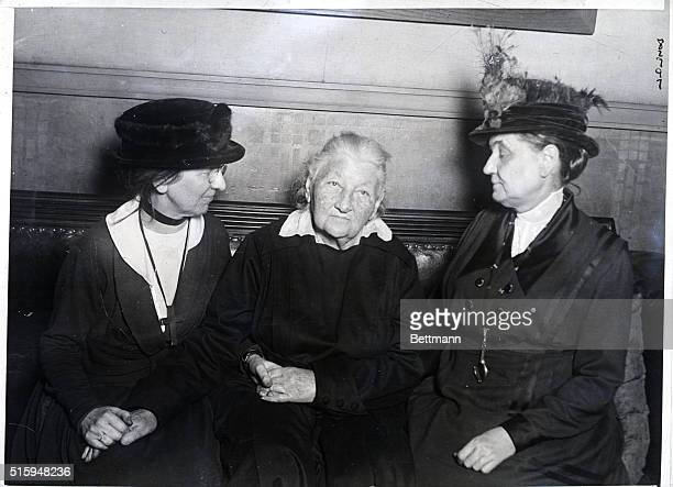 Jane Addams is shown with Catherine Breshkovskaya called the Grandmother of Russian Revolution