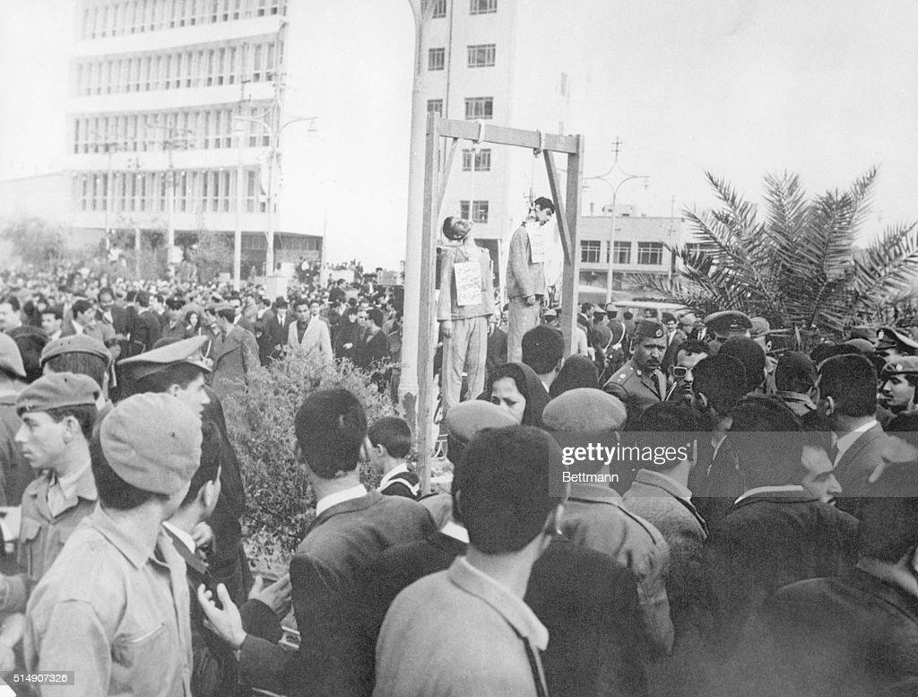 Hanging of Jewish Students in Baghdad : Nachrichtenfoto