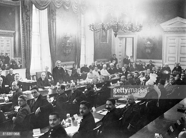 12/9/1931London England The second Indian RoundTable Conference ended in London December 1st with reaffirmation on the part of Prime Minister J...