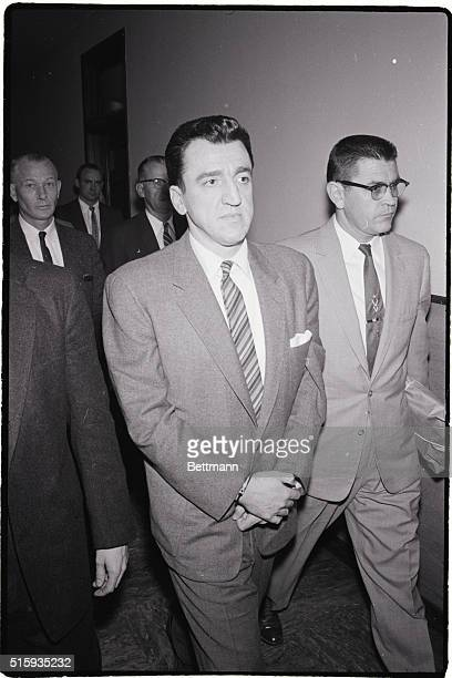 1/29/60San Francisco California Convictauthor Caryl Chessman is shown here 1/29 as he arrives at Federal Court accompanied by unindentified guard...