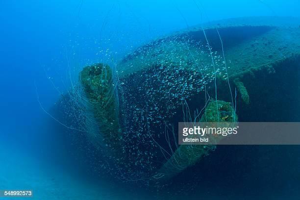 12inch Gun of USS Arkansas Battleship Marshall Islands Bikini Atoll Micronesia Pacific Ocean