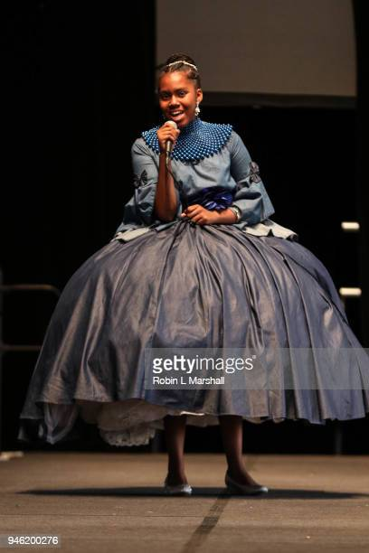 12th Annual Santee High School Fashion Show at Los Angeles Trade Technical College on April 13 2018 in Los Angeles California