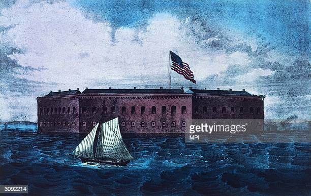 Fort Sumter South Carolina the scene of the opening battle of the American Civil War