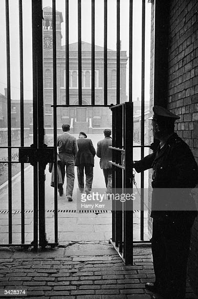 Nine prisoners at Bristol Prison leave each morning to work outside in civilian clothes and earn up to 15 pounds per week They are all approaching...