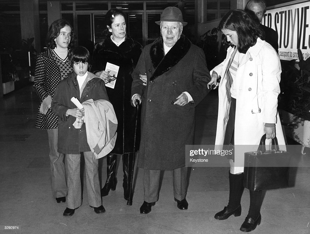 Chaplin Holiday : News Photo