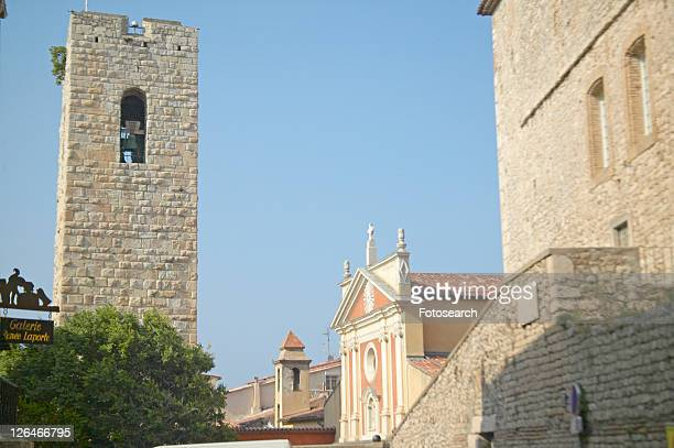12th century Bell-Tower and church