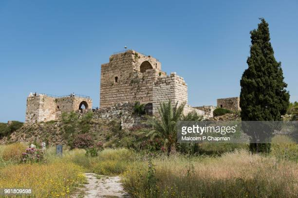 12th century Crusader castle, the Citadel at Byblos Archaeological Site, Jbail, Lebanon
