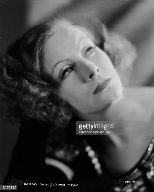 Swedish born actress Greta Garbo in costume for her role in 'Inspiration'.