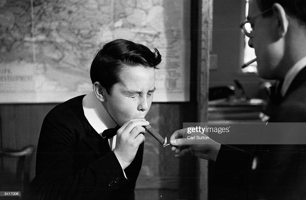 13 Year Old Anthony Valentine Learns To Smoke Cigars In U0027Vice Versau0027
