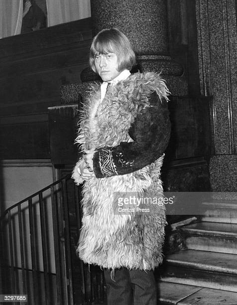 Brian Jones guitarist and founder member of pop group the Rolling Stones leaving for the High Court today where he is appealing against a nine month...