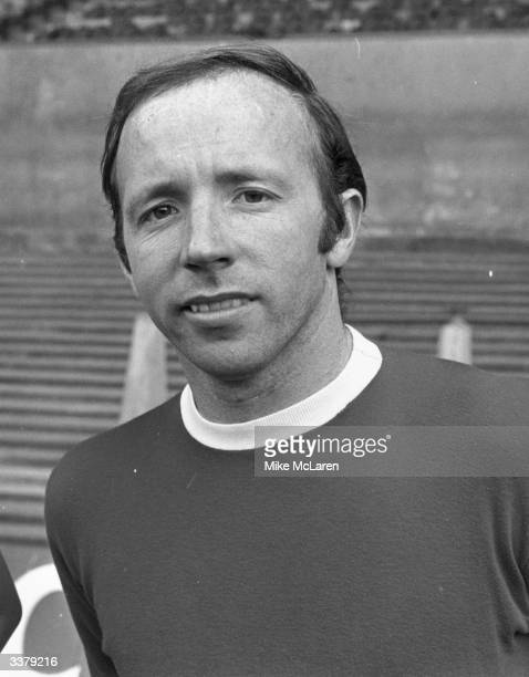 Manchester United and England footballer Nobby Stiles