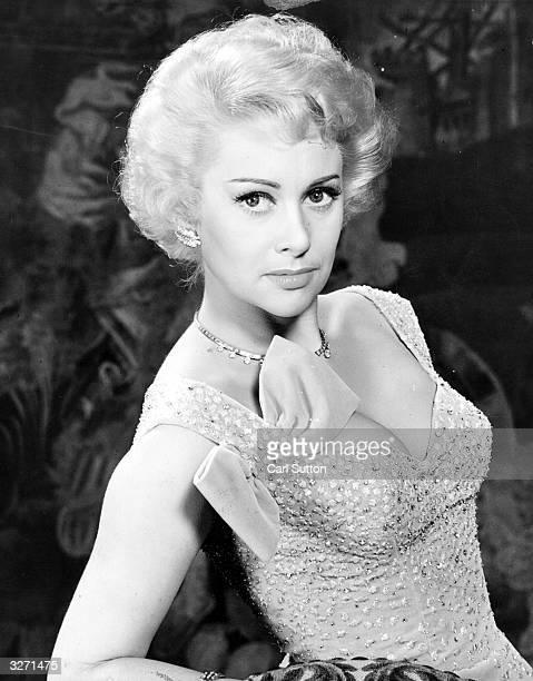 French actress Martine Carol Original Publication Picture Post 7521 Martine Carol pub 1955