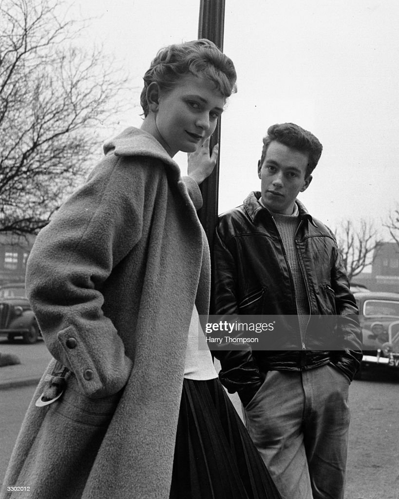 Two Welwyn Garden City teenagers, Alan Moore and Anne Thompson.