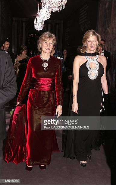 12th international children's night in Versailles France On December 06 2004Duchess of Gloucester and Isabelle Barnier