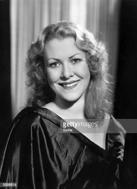 Pretty Jean Vickers one of 'Les Girls of 1934' who appears in 'The New York Midnight Follies of 1934' at the Dorchester London