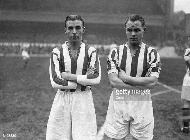 Stoke City FC soccer players England International Stanley Matthews and Steele