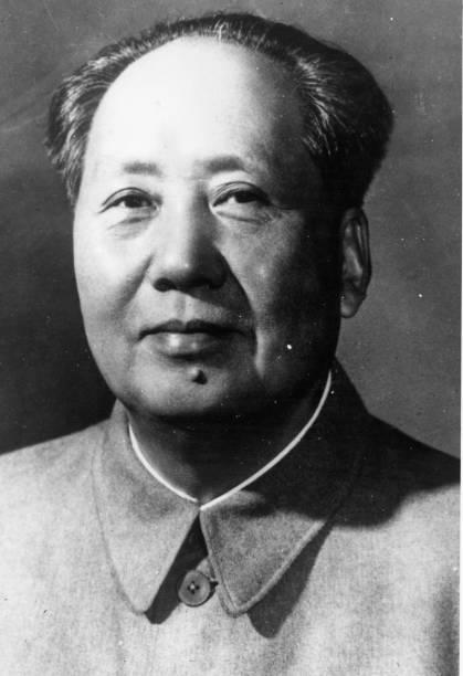 Chinese communist leader Mao Tse-tung .