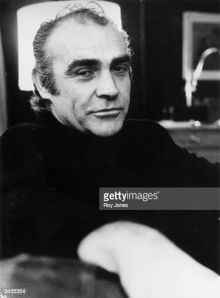 Scottish actor Sean Connery best known for his role in seven of the James Bond films