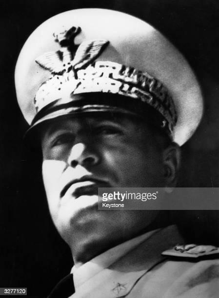 Italian fascist dictator Benito Mussolini known as 'Il Duce'