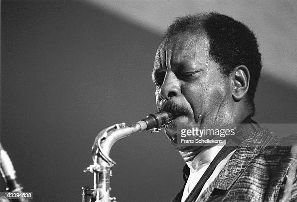 12th JULY: American musician Ornette Coleman plays alto sax at the North Sea Jazz Festival in the Hague, the Netherlands on 12th July 1987.