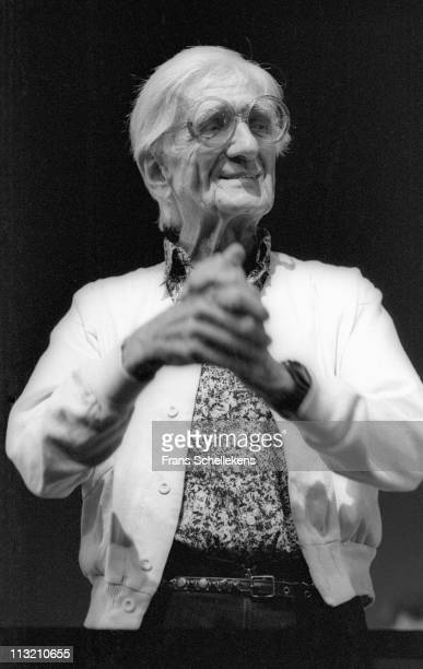 12th JULY: pianist, arranger and composer Gil Evans performs at the North Sea Jazz festival in the Congresgebouw, The Hague, Netherlands on 12th July...