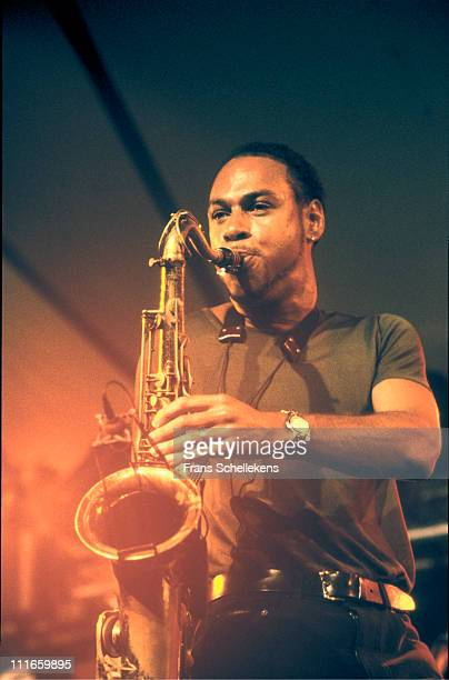 12th JULY: tenor sax player Joshua Redman performs live on stage at the North Sea Jazz festival in the Congresgebouw, The Haguem, Netherlands on 12th...