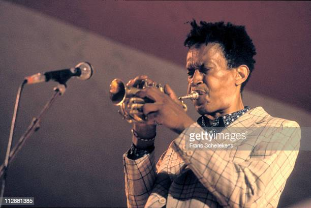 trumpet player Don Cherry performs at the North Sea Jazz festival in the Congresgebouw The Hague Netherlands on 12th July 1987