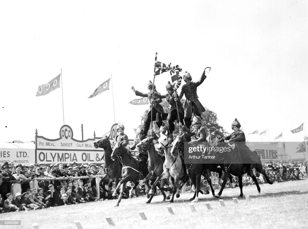 British Rodeo Riders : News Photo