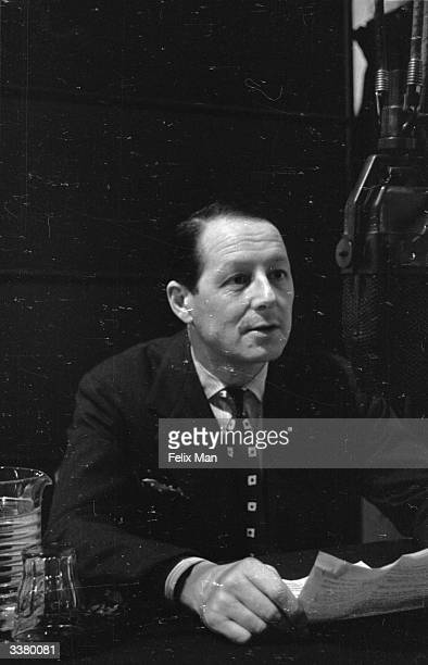 French broadcaster Jean Oberle broadcasting the French Service from the BBC European Service control room London The BBC's overseas broadcasts have...