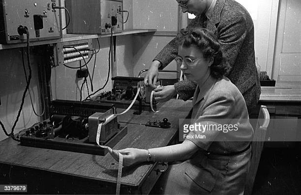 Morse code broadcasts being transmitted from the BBC European Service control room London The BBC's overseas broadcasts have provided...