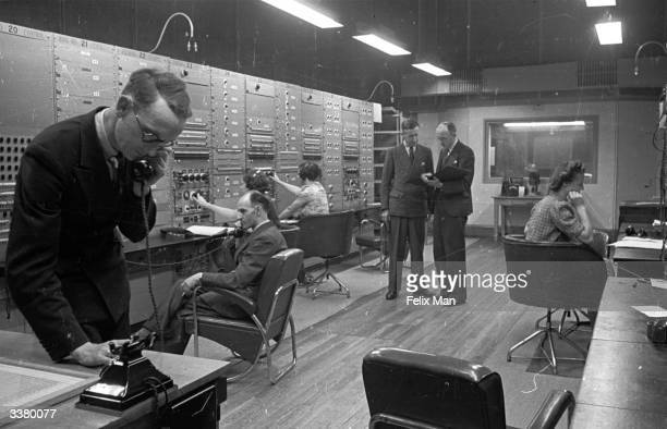 The BBC European Service control room London The BBC's overseas broadcasts have provided counterpropaganda throughout the war Original Publication...