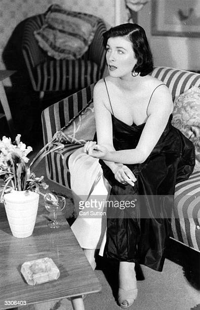 Film actress Constance Smith who started as a photographic model and then served her apprenticeship in Dublin at the Abbey Theatre Original...
