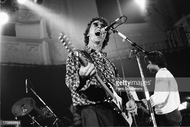 12th: Karl Wallinger performs with World Party at the Paradiso in Amsterdam, Netherlands on 12th August 1987.