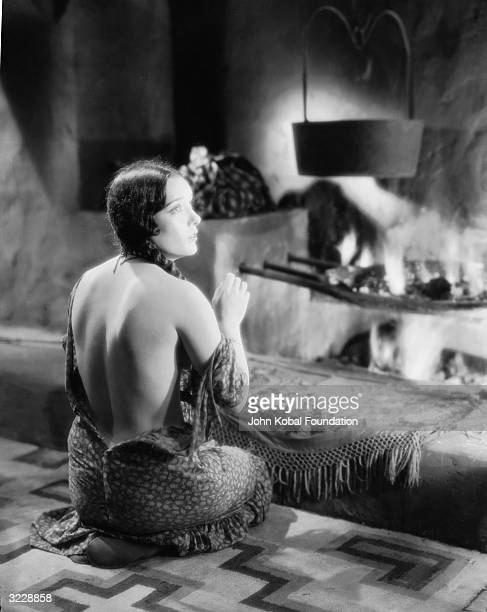 Mexican actress Lupe Velez plays the Native American wife of an English aristocrat in 'The Squaw Man directed by Cecil B DeMille