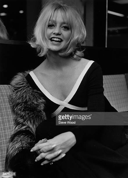 Film star Goldie Hawn