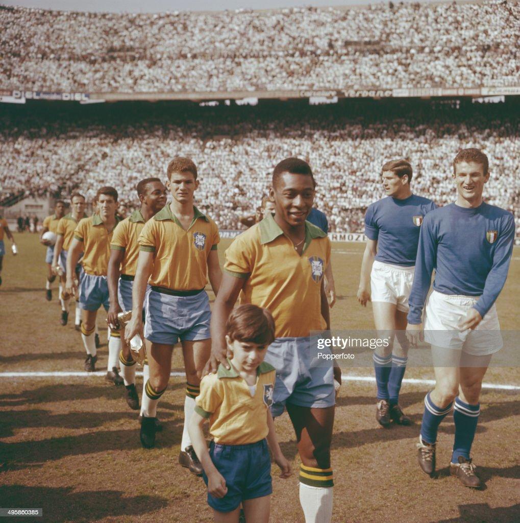 Brazil v Italy At The San Siro : News Photo