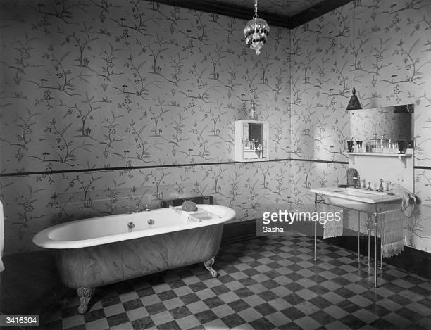 Mr Owen Nare's bathroom.