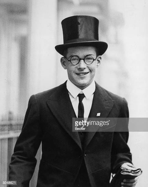 Rudolf the fifteenyearold eldest son of the German Ambassador to London Joachim von Ribbentrop leaves his home in Eaton Square for Westminster School...