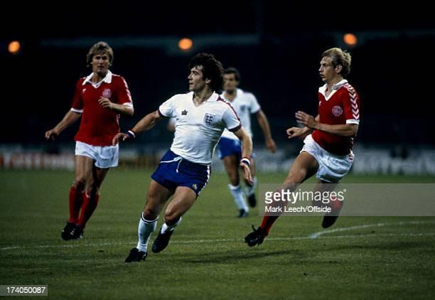 12th September 1979 International Football England v Denmark Kevin Keegan and Soren Busk