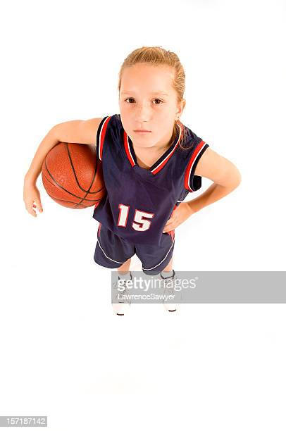 12-year girl basketball player