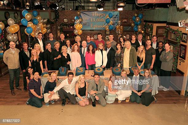 LIVES 13000th Episode Celebration Pictured 'Days of our Lives' cast and crew
