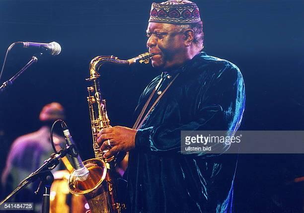 Jazzmusiker USAbei einem Auftritt auf dem 33 Deutschen Jazzfestival in Frankfurt/M