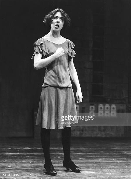 *Schauspielerin Schweiz bei einem Gastspiel in den Kammerspielen Berlin 1991