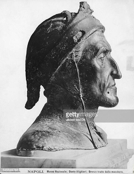 *13131375Dichter ItalienBronzebüste nach der TotenmaskeNationalmuseum Neapel